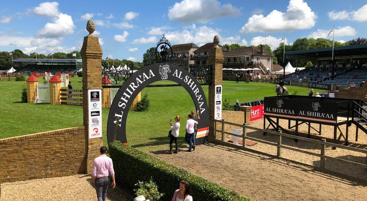 The Al Shira'aa Hickstead Debry Meeting